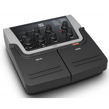 LD SYSTEMS FX 300 Pedal de 2 canales con 16 efectos digitales