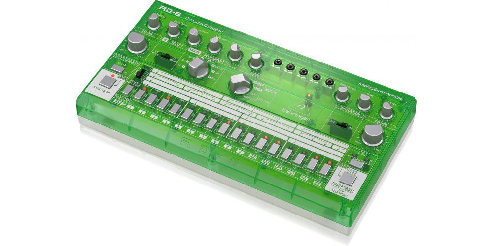 behringer rd 6 lm controles