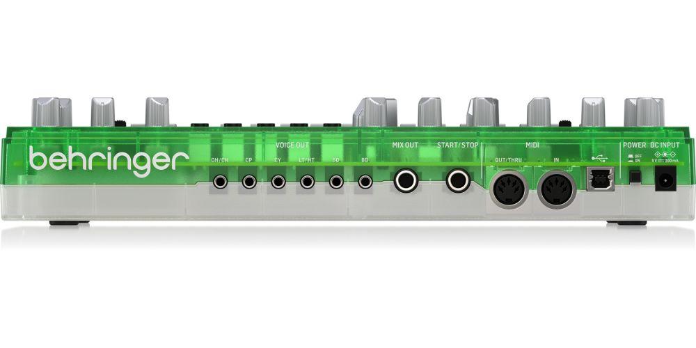 behringer rd 6 lm rear conexiones
