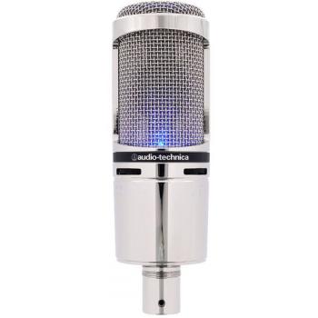 AUDIO TECHNICA AT-2020 USB+V Micrófono USB Limited Edition en Chrome