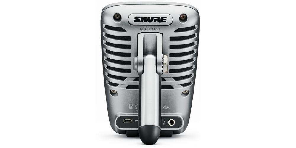 SHURE MV51 DIG Microfono digital de condensador gran diafragma con cable lightning