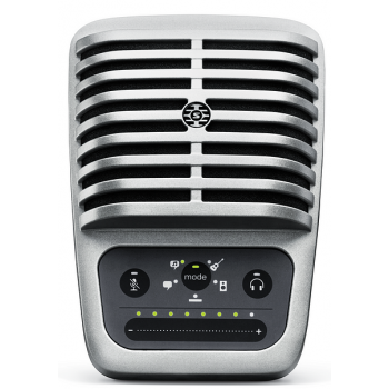 SHURE Motiv MV51-DIG Micrófono Digital de Condensador Gran Diafragma con Cable Lightning