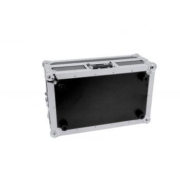 Roadinger Mixer Case Pro MCB-19 sloping bk 6U Flightcase para Mezclador