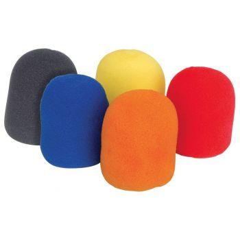 Qtx Set 5 Antivientos para Micrófono Multicolor