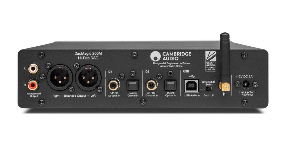 cambridge audio dacmagic 200 conexiones