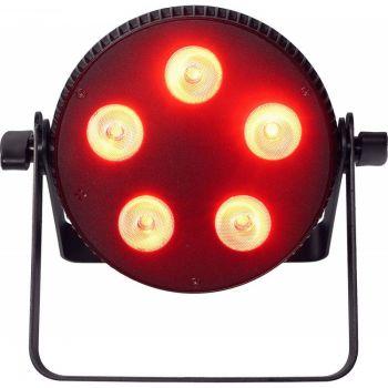 Algam Lighting SLIMPAR-510-HEX Foco Proyector LED 5x10W 6 en 1 RGBWAU Slim