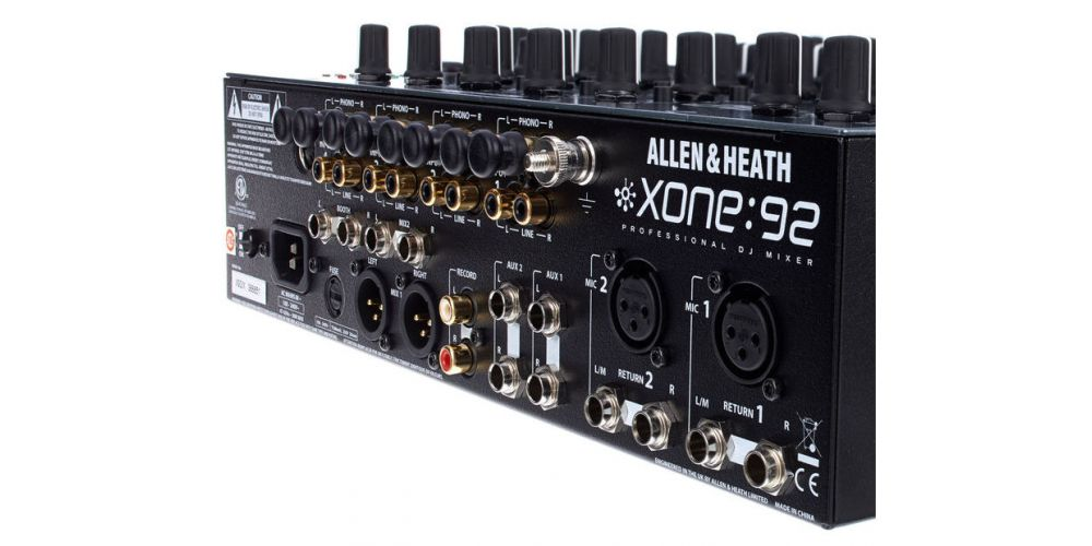 allen heath xone92 back