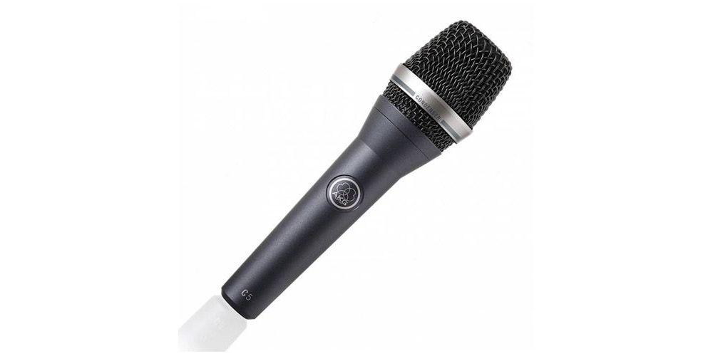 AKG C-5 Microfono Condensador C5 Vocal Cardioide con Pinza SA-45 C-5