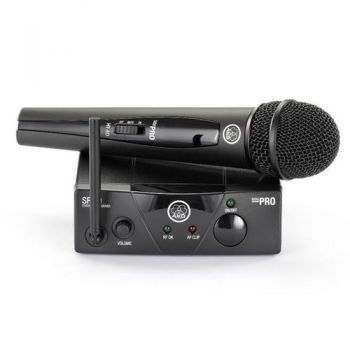 AKG WMS-40 MINI VOCAL Microfono Inalambrico Mano, Banda ISM2