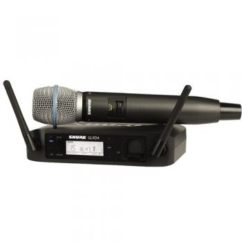 SHURE GLXD24E B87A Microfono inalambrico Digital de Mano Beta 87A