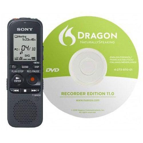 SONY ICD-PX333 D Grabadora Digital 4GB Dragon
