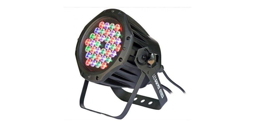 BRITEQ LED POWER BEAM Proyector de Led  RGB 36 Leds Ref 4322
