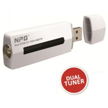 NPG REAL DVB 2T TDT para Ordenador. 2 Sintonizadores
