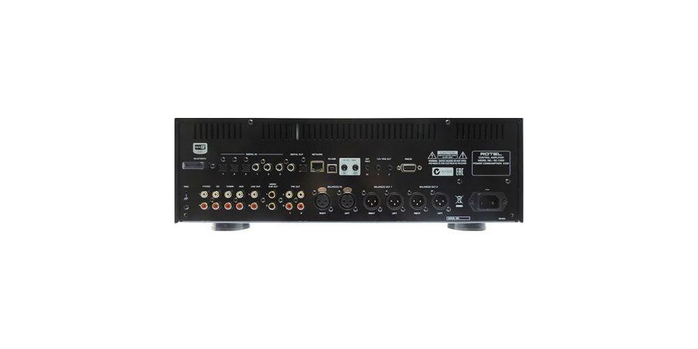 rotel RC 1590 bk preamplificador alta gama conexiones