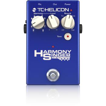 TC helicon Harmony Singer 2 Pedal de Efectos