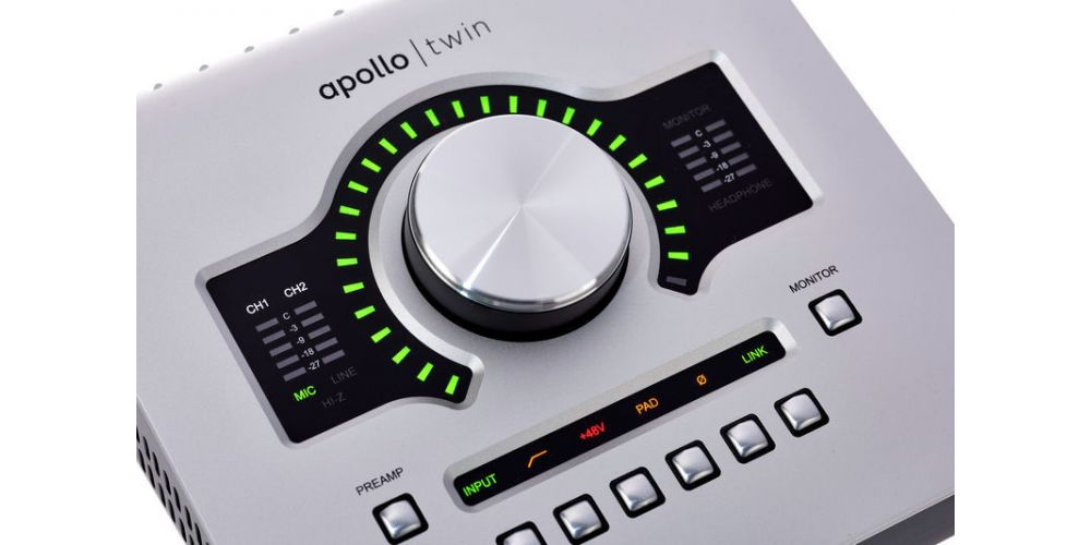 universal audio apollo twin usb control