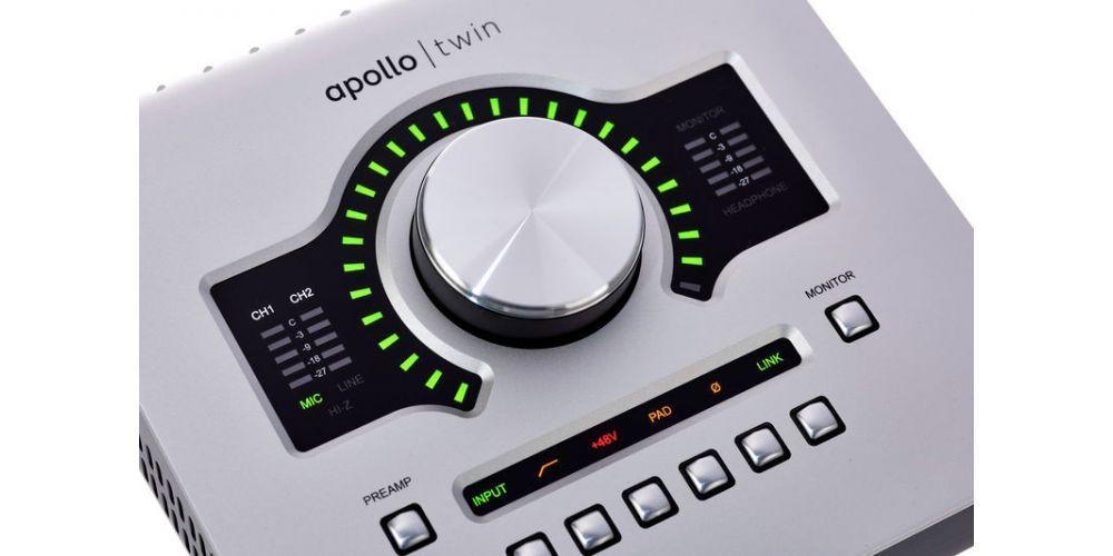 universal audio apollo twin usb control