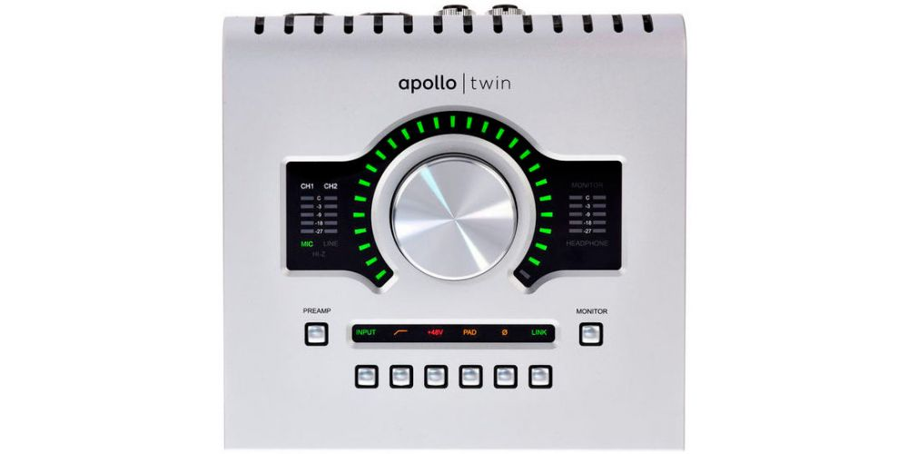 universal audio apollo twin usb frontal