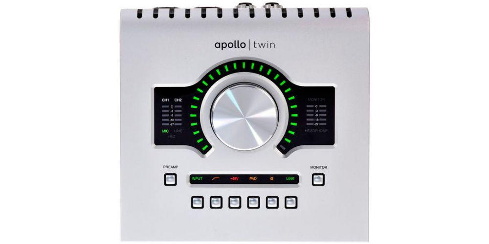 universal audio apollo twin usb frontal