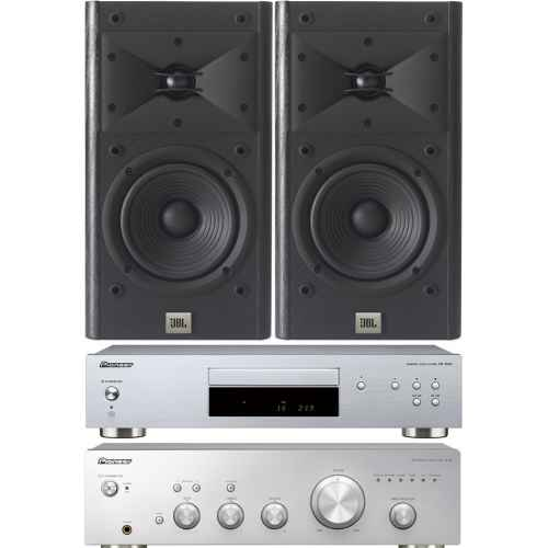 pioneer a 10 silver amplificador pd10ae  a10 jbl arena 120
