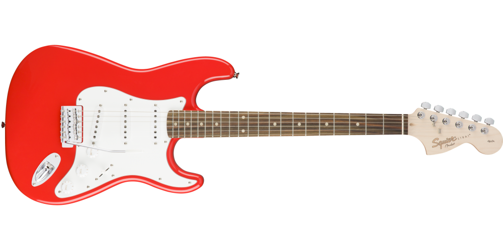 fender squier affinity serie stratocaster race red