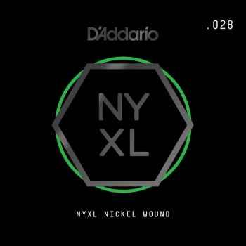 D´addario NYNW028 Cuerda Suelta para Guitarra Eléctrica