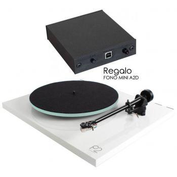 REGA Planar 2 Blanco+A2D Previo Phono