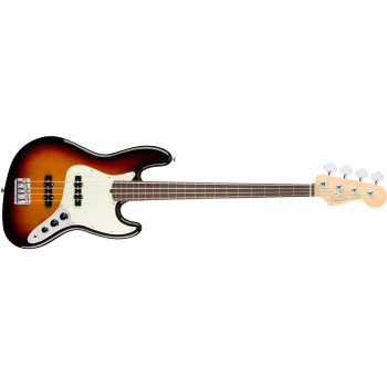 Fender American Pro Jazz Bass Fretless Rosewood Fingerboard 3-Color Sunburst