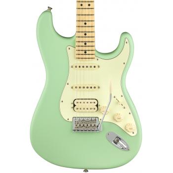Fender American Performer Stratocaster MN HSS Satin Surf Green