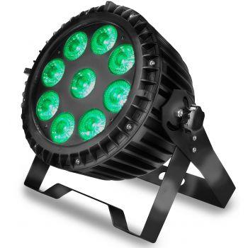 Audibax WATER 90 Foco Led con posibilidad de Exteriores IP65. 9 Potentes LED x 10W RGBw 4 en 1