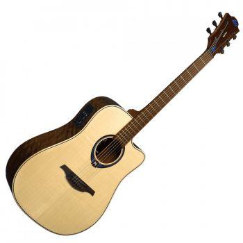 LAG THV20DCE Guitarra Electro Acústica Formato Dreadnought Serie Tramontane