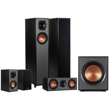Klipsch R-610F Ebony,Conjunto R610F, R52C, R41,R100SW altavoces Home Cinema  5.1