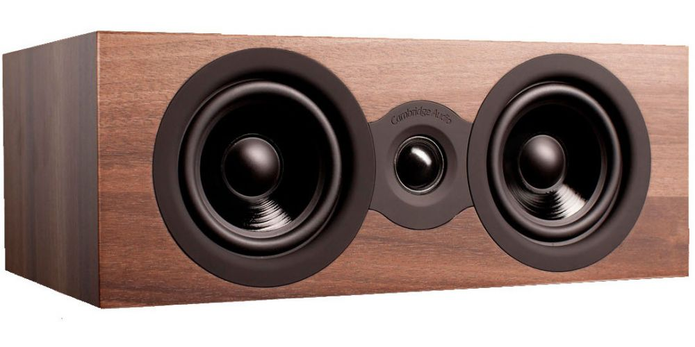 cambridge audio sx70 walnut altavoz central sx 70