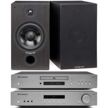 CAMBRIDGE AXA35 +AXC35+SX60-BK, Conjunto Audio