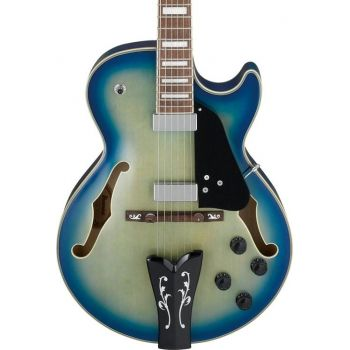 Ibanez GB10EM-JBB Guitarra Eléctrica George Benson Signature Jet Blue Burst