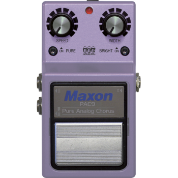 Maxon PAC-9 Pure Analog Chorus Pedal Efectos Guitarra