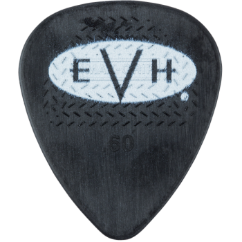 EVH Púas Signature Black-White Pack 6 Unidades 0,60mm