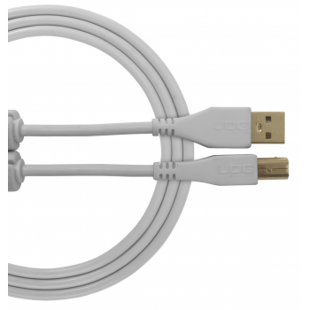 Udg U95001WH Ultimate Cable USB 2.0 A-B Blanco 1 Metro