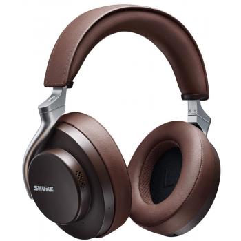 SHURE AONIC 50 BR Auricular Inalámbrico Marrón Oscuro Noise Cancelling