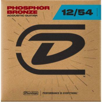 Dunlop DAP1254 Juego Cuerdas Guitarra Acustica Phosphor Bronze Light 12-54