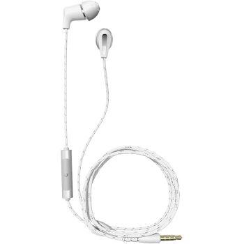 Klipsch T5M Wired Headphones White Auriculares Boton