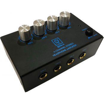 OQAN QHA-4 Amplificador de Auriculares de 4 Canales