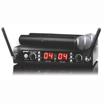 GEMINI UHF-4200M Microfono Inalambrico Doble de Mano UHF