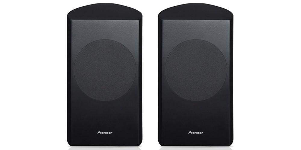 pioneer s71b black altavoces traseros