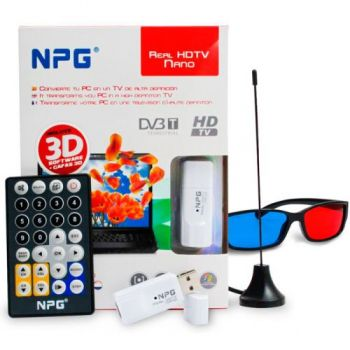 NPG REAL HDTV NANO 3D Convierte tu Ordenador en Tv 3D ( REACONDICIONADO )