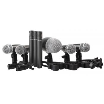 Eikon DMH8XL Kit 8 Microfonos de Bateria By Proel