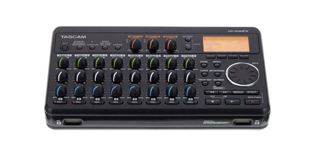 grabador TASCAM DP008EX