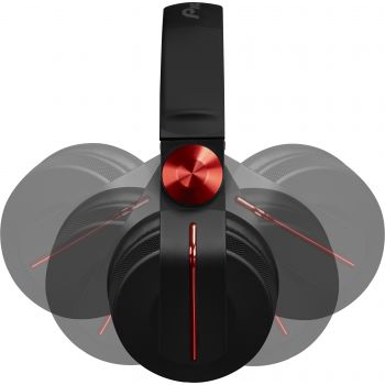 Pioneer HDJ 700 Rojo Dj Auricular