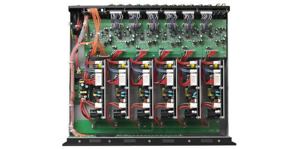 parasound model 1250 multicanal conexiones construccion