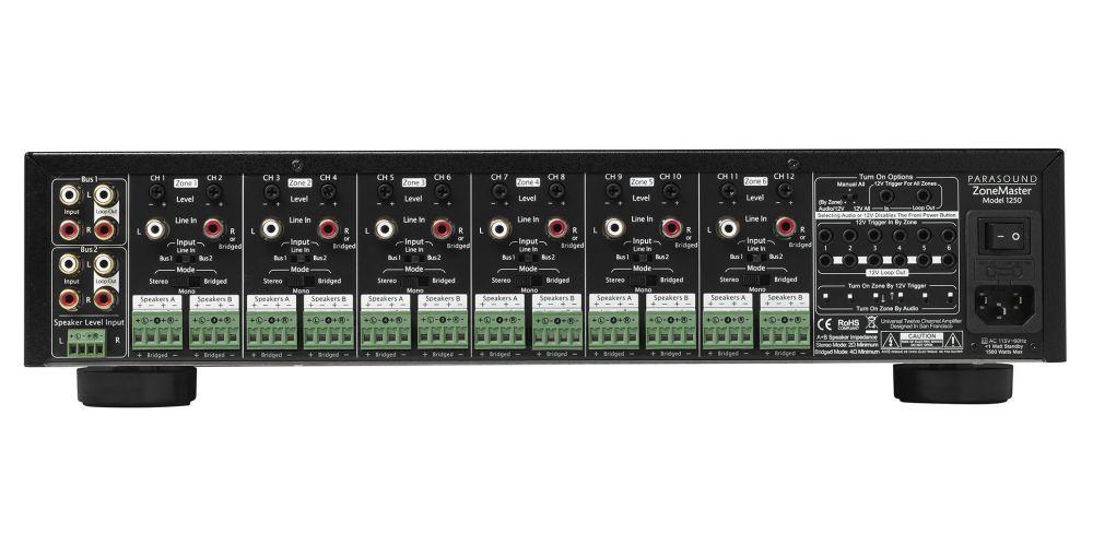 parasound model 1250 multicanal conexiones